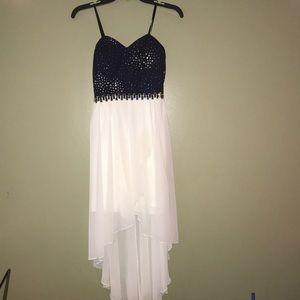 Sparkly Navy Homecoming Prom dress size 5